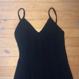 Brandy Melville Black maxi dress